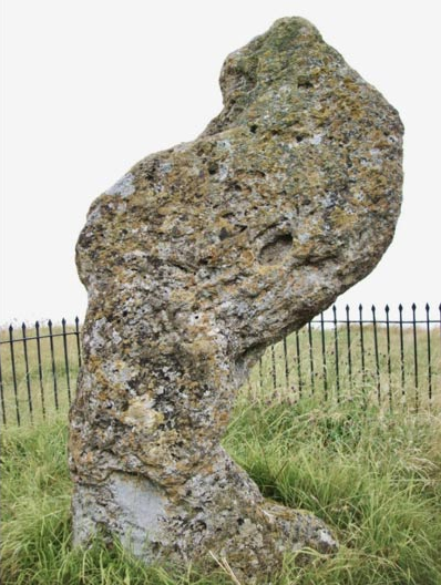 The King Stone at Rollright Stones in Warwickshire, England (Poliphilo/Wikimedia Commons)